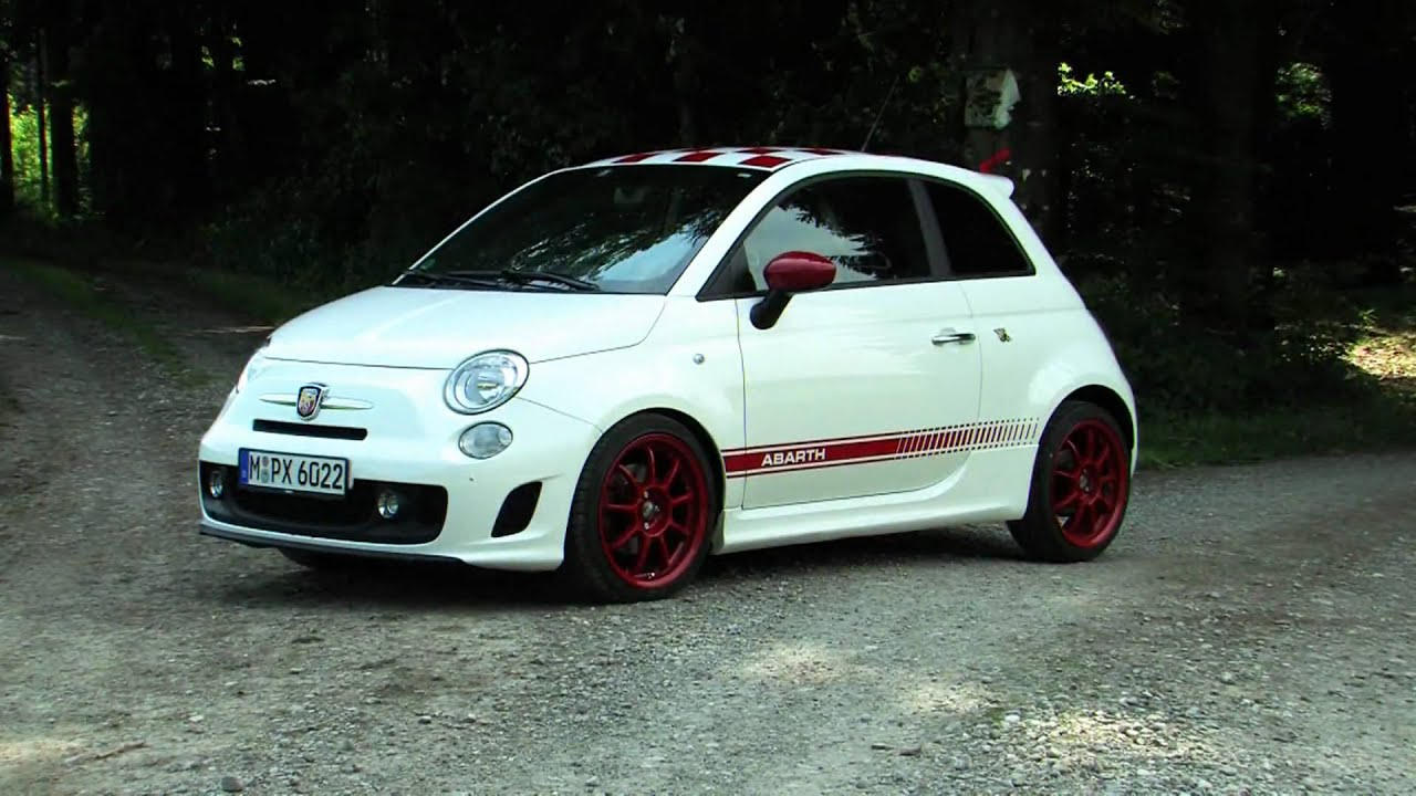 Driving the G-Tech Abarth 500 RS (Full HD) - YouTube