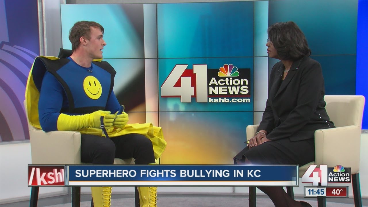 Superhero fights bullying in KC
