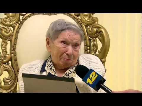 Women celebrates 112th birthday