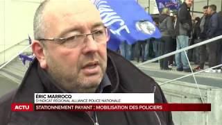 Rassemblement du 9 février 2018 à Bordeaux suite à la nouvelle politique de stationnement