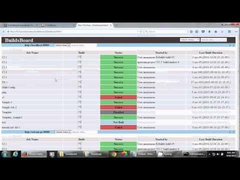 BuildsBoard - Jenkins CI jobs monitoring tool