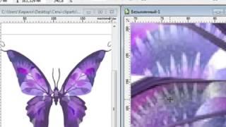Уроки Корел. CorelDRAW X5 для новичков. Векторная графика (1.1) Хорошее качество видео уроки для нач