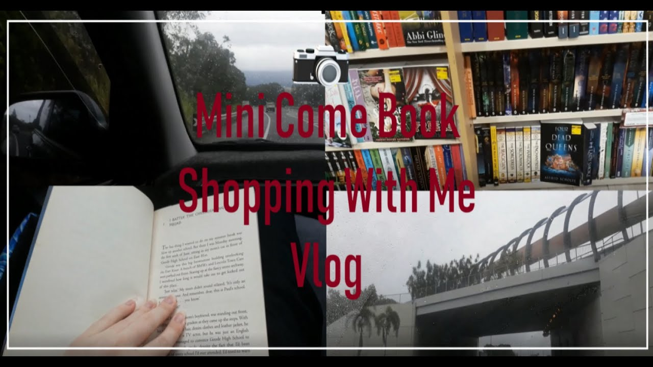 Mini Come Book Shopping With Me Vlog (Where it's basically just all driving)