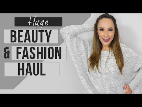 HUGE FASHION (BERSHKA|PULL&BEAR) HAUL+HUGE BEAUTY HAUL(MAYBELLINE|L'OREAL|NYX|MUA|ORLY)|BEAUTISSIMI