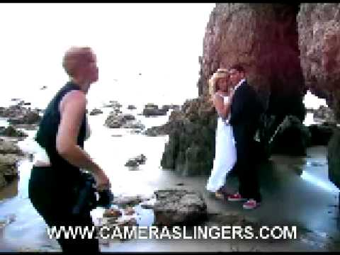 Camera Slingers Commercial in Malibu