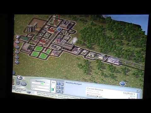 Simcity 4 deluxe edition,(New city.) |