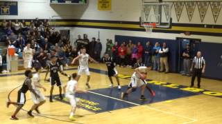 Dylan Kaufman draws a foul with 4.7 seconds left
