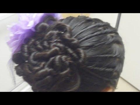 Peinados de torcidos para primera comunion