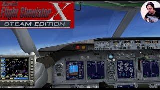 Fena Çuvalladık | Flight Simulator X Türkçe Multiplayer | Bölüm 12
