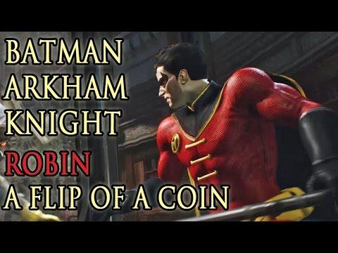 A Flip Of A Coin w/ Robin  (Batman: Arkham Knight DLC) - Let's Play! Gameplay Walkthrough (PS4)