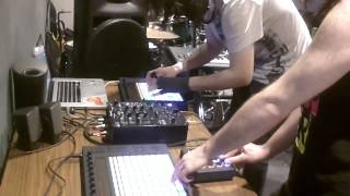 Dirty Love Muffins Ableton Push And Midi Fighter Improv Jam