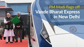 PM Modi flags off Vande Bharat Express in New Delhi | PMO