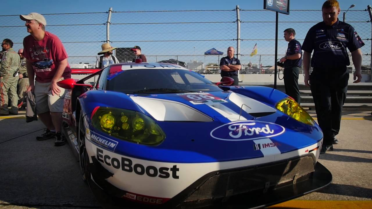 Ford GT Race Car Uses Brembo Brakes | Ford Authority