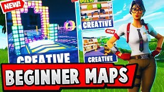 TOP 5 Best BEGINNER Parkour CREATIVE MAPS In Fortnite (With CODES)