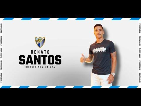 El Málaga anuncia el fichaje de Renato Santos para la banda derecha del ataque