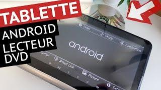 TABLETTE Android Lecteur de DVD Portable 10.1 Pouces IPS | DDAUTO DDA10D