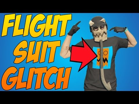 GTA 5 FLIGHT SUIT BREATHING TUBE GLITCH