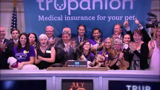 Trupanion Lists IPO on the New York Stock Exchange