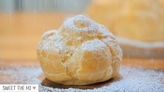 Cream puff  슈크림 FOOD VIDEO 스윗더미 . Sweet The MI