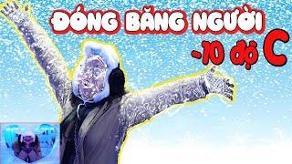 THỬ ĐÓNG BĂNG NGƯỜI VỚI NHIỆT ĐỘ CỰC LẠNH ÂM 10 ĐỘ C Ở HP ICE LOUNGE