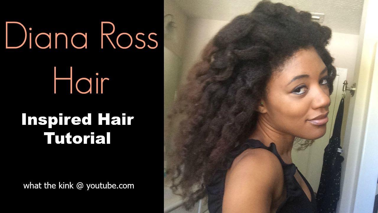 Diana Ross Inspired Hair Collab Wamar Munteka Youtube