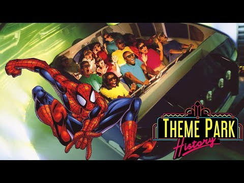 The Theme Park History of The Amazing Adventures of Spider-Man (Universals Islands of Adventure)