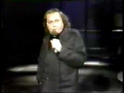Sam Kinison First Appearance on  Letterman