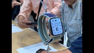 وش الجديد مع ساعة ابل Apple Watch Series 5 ؟
