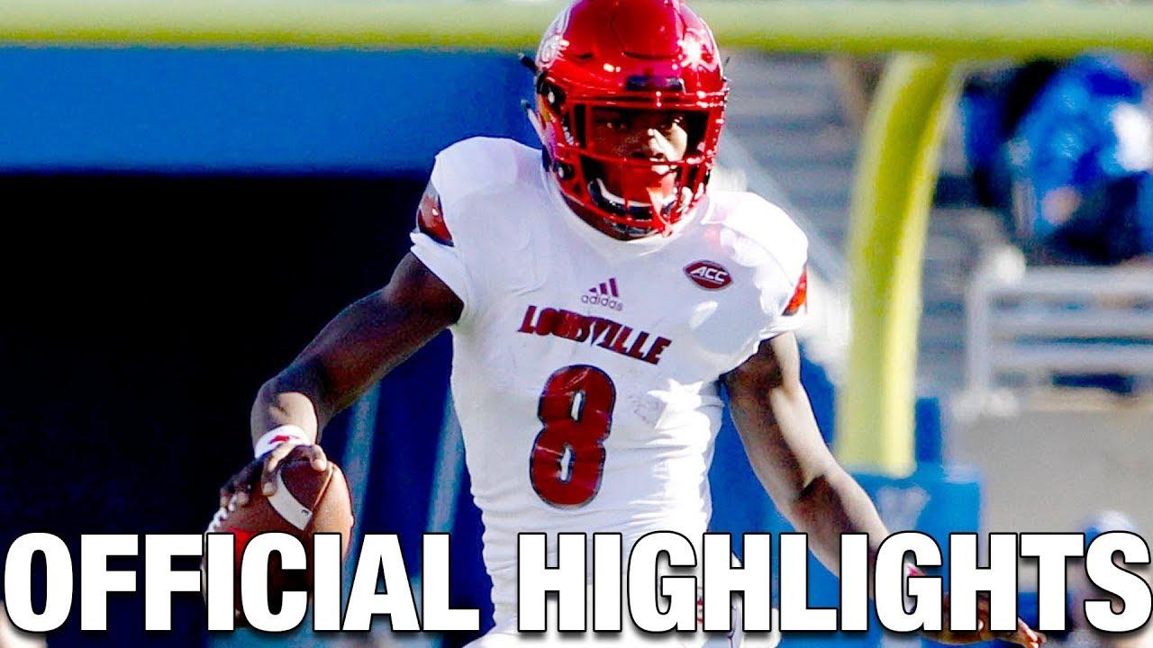 best loved e75c8 32268 Lamar Jackson Official Highlights | Louisville Cardinals QB