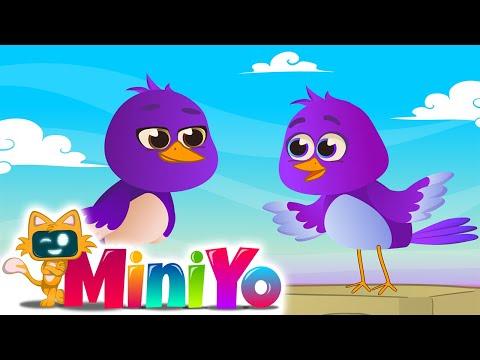 Mor Kuşlar   Paylaşmayı Öğreten Çocuk Şarkısı   Miniyo Çocuk Şarkıları