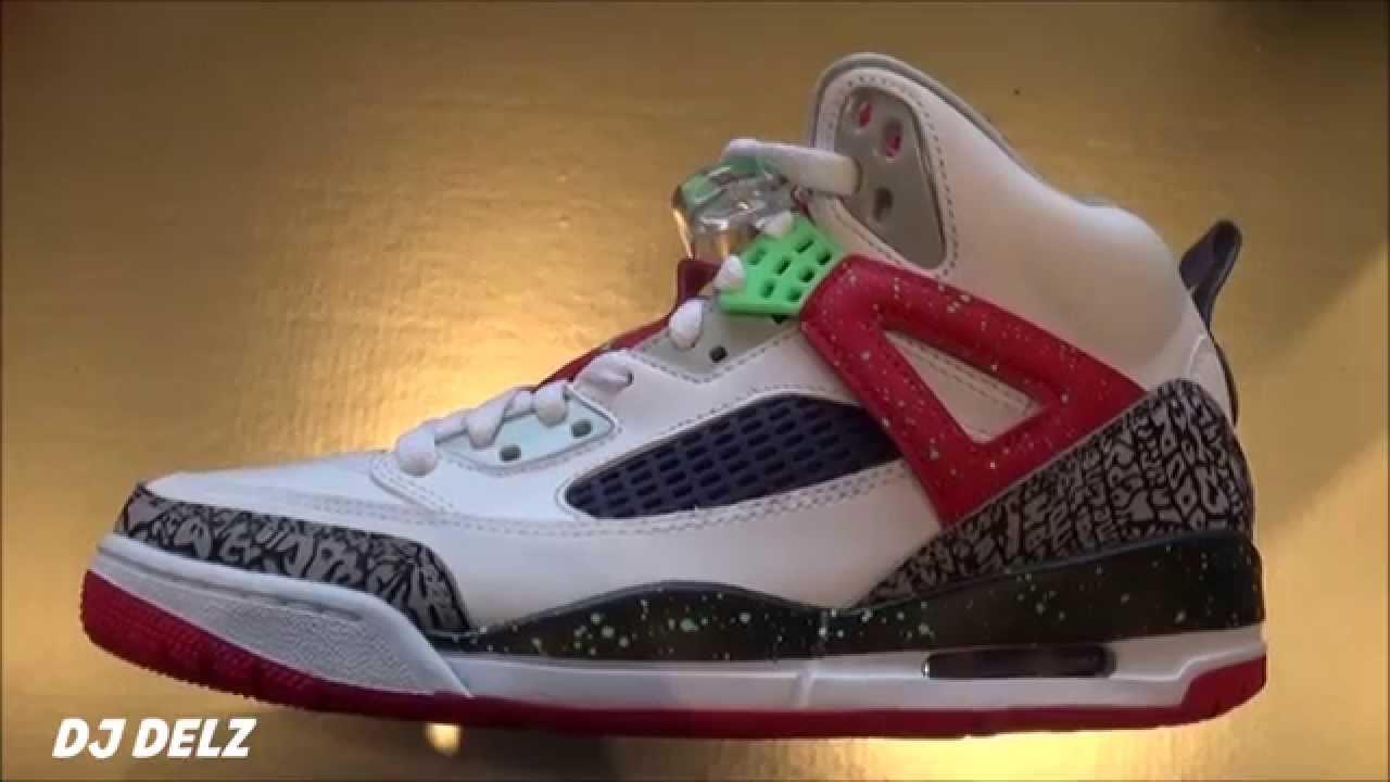 8dfebc17df94 Air Jordan Spizike Hare aka Bugs Bunny Sneaker Breakdown Review + Quick  Fashion Tip - YouTube