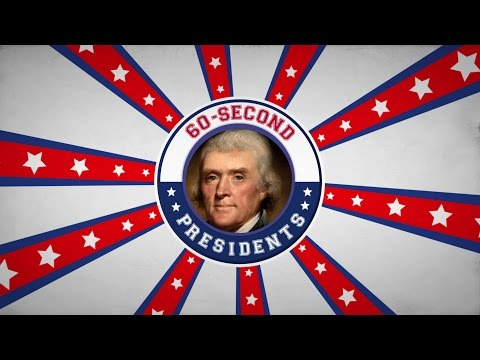 Thomas Jefferson | 60-Second Presidents | PBS