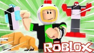 VIREI O BEN 10 NO ROBLOX!! (Ben 10 in Roblox)