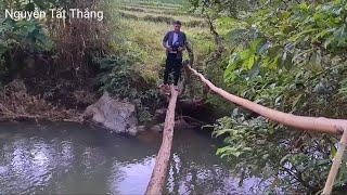Cầu Nà Cáy cây cầu thứ 3 thêm 5 tấn xi làm đường. Nguyễn Tất Thắng
