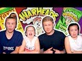 TRYING SOUR CANDY & UMEBOSHI PLUMS! - DAD V GIRLS