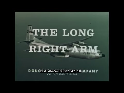 MILITARY AIR TRANSPORT SERVICE MATS  DOUGLAS C-133A HISTORIC FILM 46454