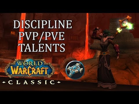 PvP And PvE WITHOUT Respeccing! Discipline Talents Build | Priest WoW Classic