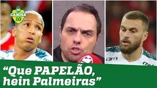 """""""DÁ RAIVA!"""" Repórter DETONA """"queridinhos"""" de Felipão após eliminação do Palmeiras!"""