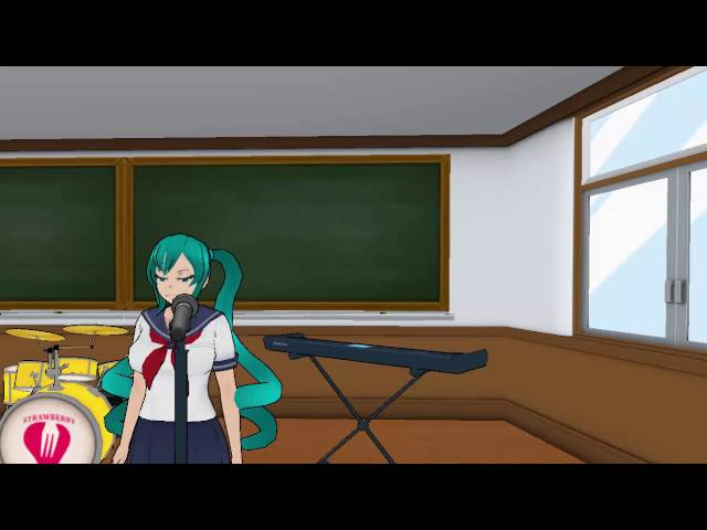Saki tries to be famous like Hatsune Miku
