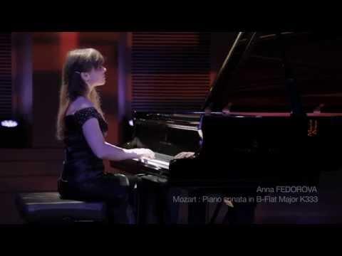 W. A. Mozart - Piano Sonata No. 13 in B-flat major, K. 333 - Anna Fedorova