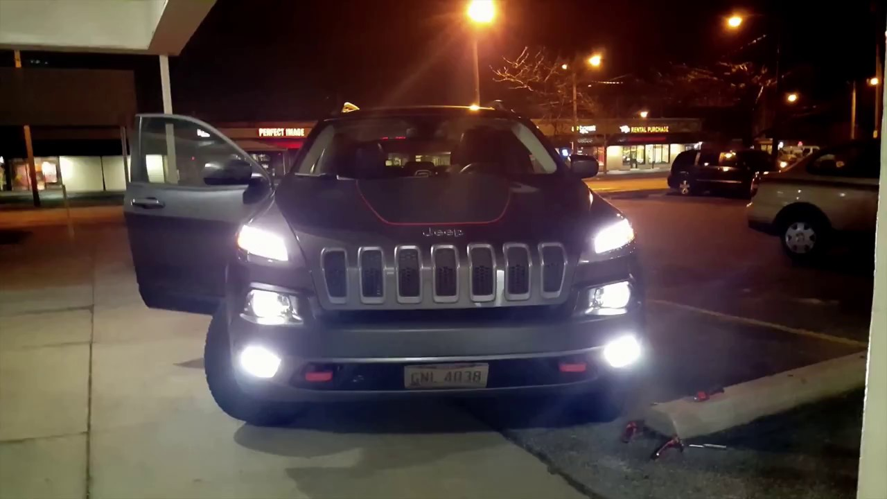cherokee jeep trailhawk lights fog brighter