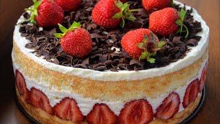 ✧ ТОРТ ФРЕЗЬЕ [Вкуснейший Французский десерт] ✧ Cake Fraisier ✧Марьяна