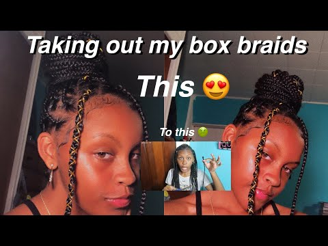 TAKING OUT MY BOX BRAIDS   soufeel jewelry thumbnail