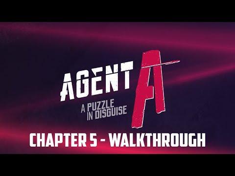 Agent A: A Puzzle in Disguise - Platinum Walkthrough Part 4