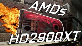 AMDs First Graphics Card....The 2900XT in 2018