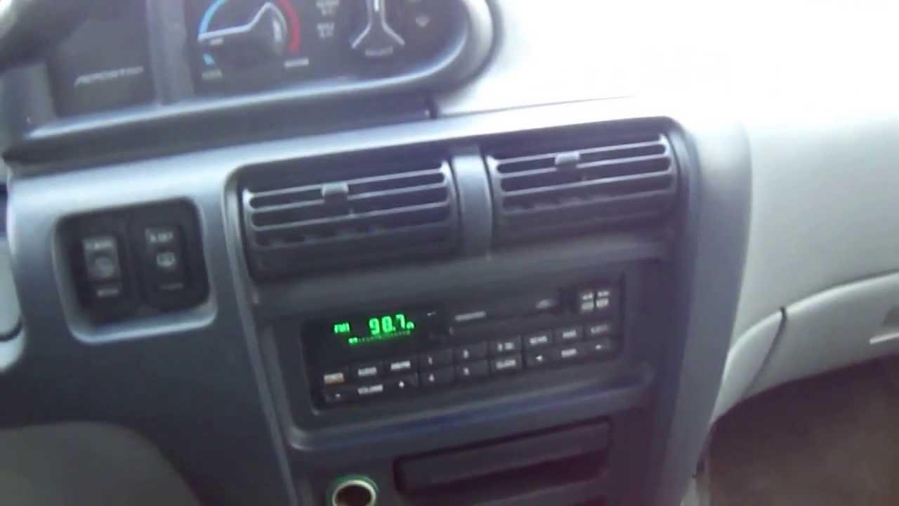 Ford 12 Passenger Van >> 1996 FORD AEROSTAR AWD PASSENGER VAN GREEN - YouTube