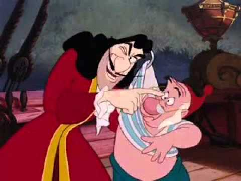 Peter Pan 1953 Captian Hook And Mr Smee Fandub