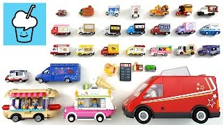 Food Truck for kids children with tomica トミカ VooV ブーブ 変身 Lego siku playmobil