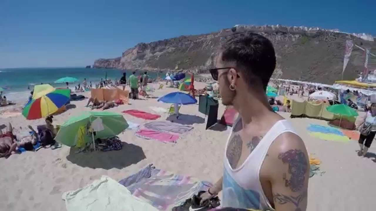 Nazare Beach Vlog Portugal