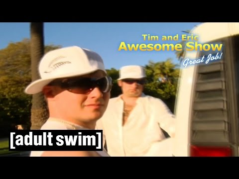 BEAVER BOYS 3-IN-1 | Tim and Eric Awesome Show, Great Job! | Adult Swim